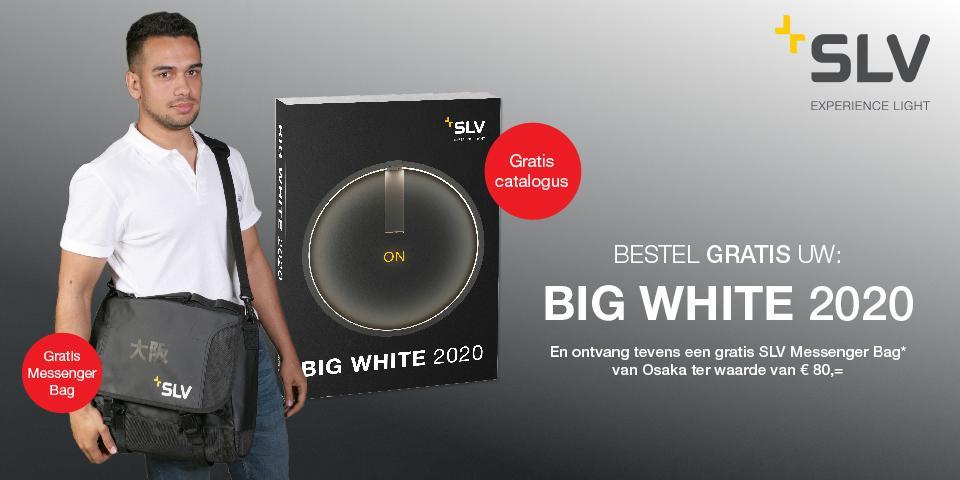 SLV | Bestel uw BIG WHITE 2020 en ontvang een handige tas!