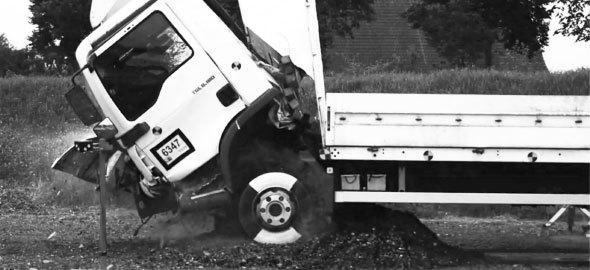 BEGA doorrijdbeveiliging voor auto's en vrachtwagens