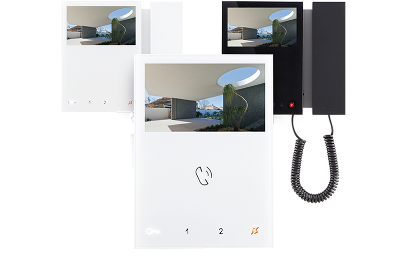 Mini Handsfree 2-draads WiFi van Comelit