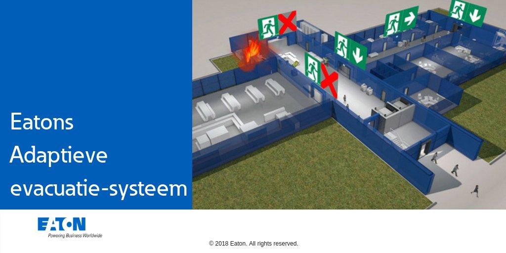 Adaptief Evacuatiesysteem van Eaton