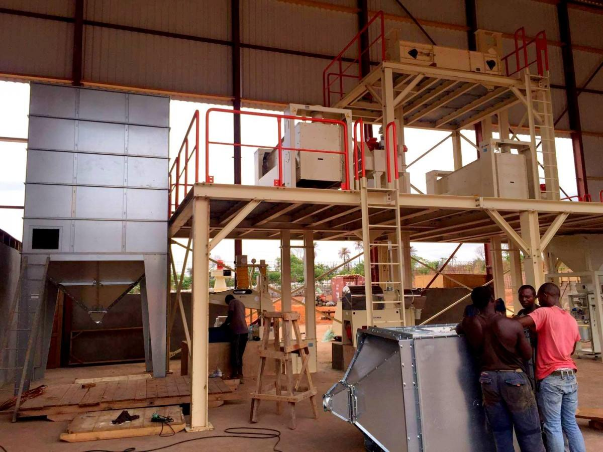 Rijstfabriek Sierra Leone