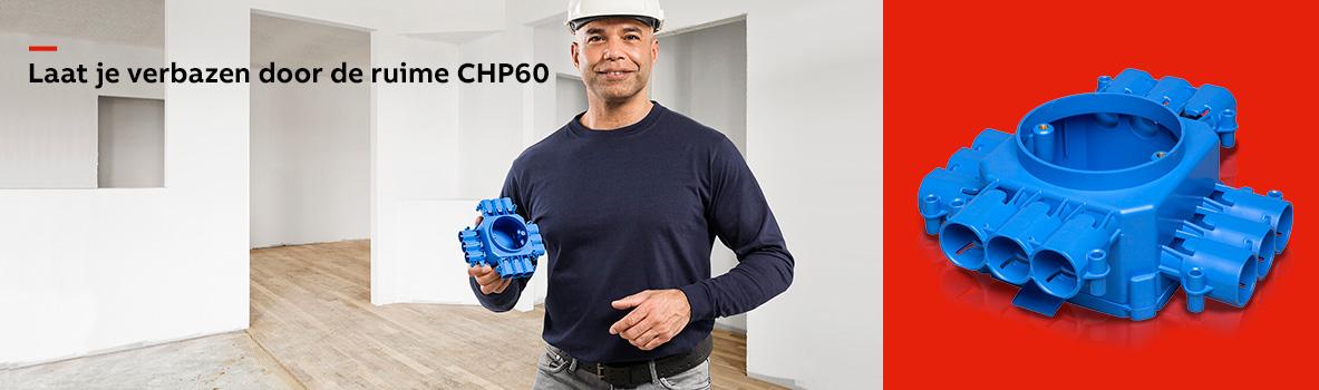 Nieuw: de ABB CHP60 centraaldoos