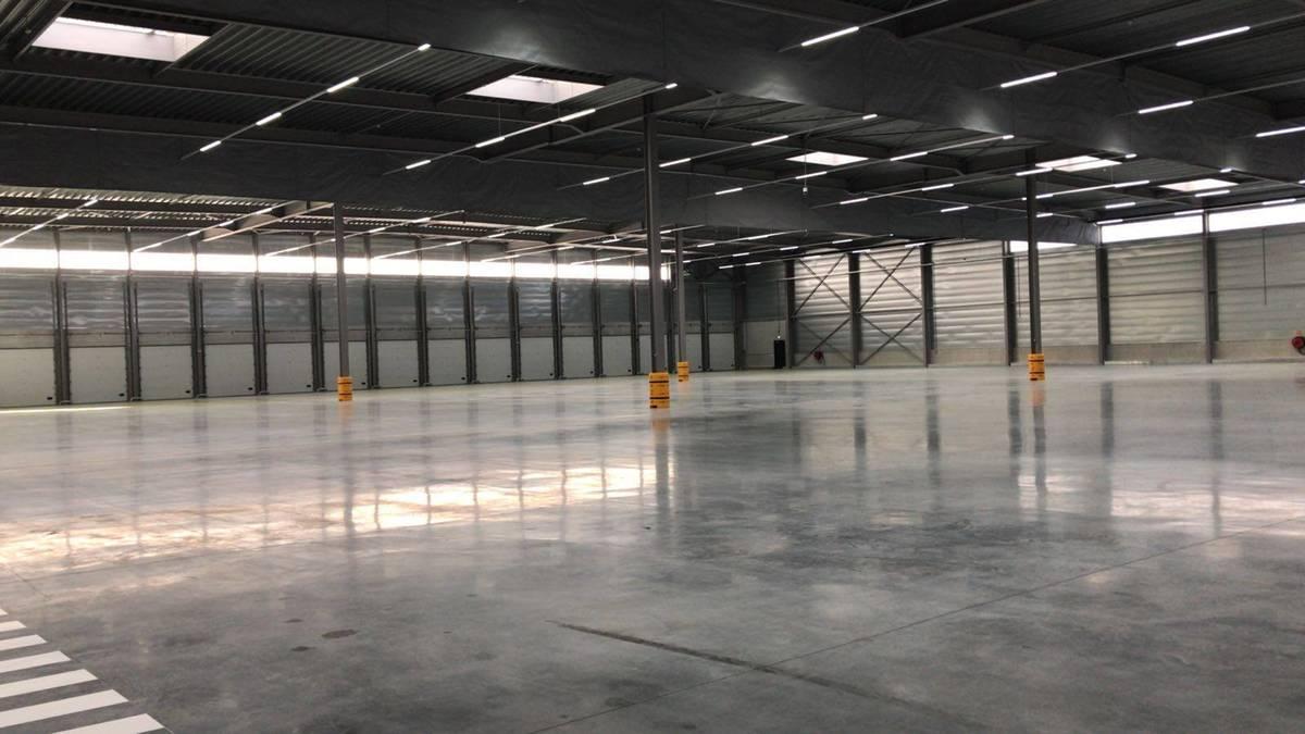 Distributiecentrum met Trilux verlichting