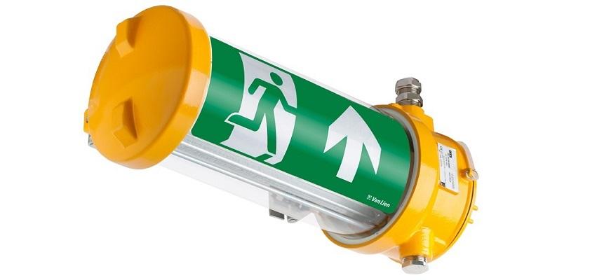 Nieuw bij van Lien: Explosiebestendige noodverlichting